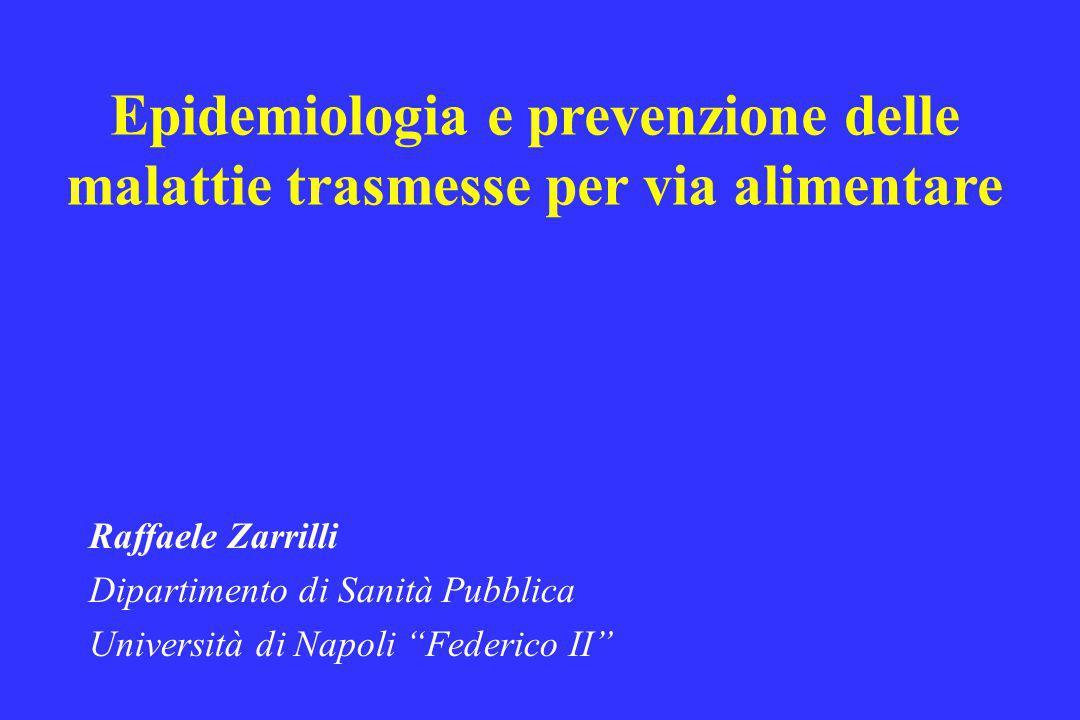 Epidemiologia e prevenzione delle