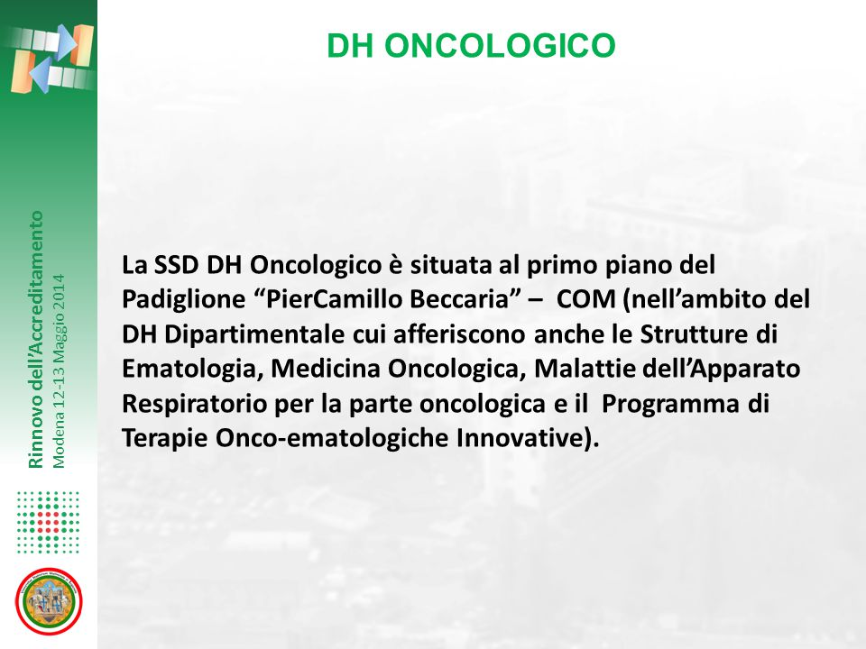 DH ONCOLOGICO