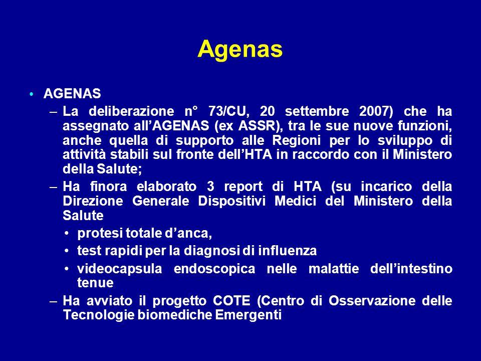 Agenas AGENAS.