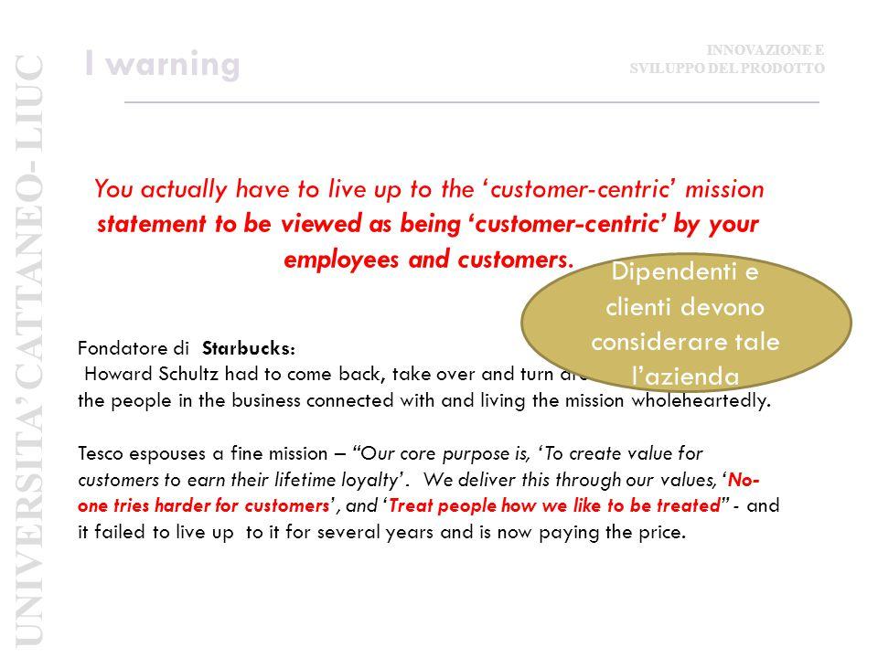 Dipendenti e clienti devono considerare tale l'azienda