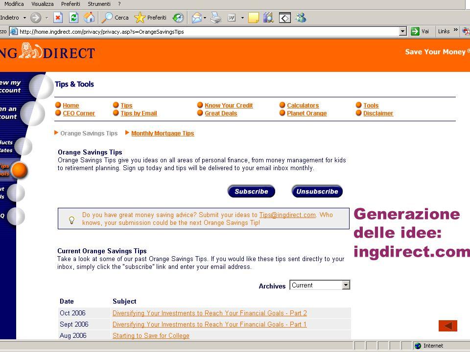Generazione delle idee: la suggestion box di benandjerry.com