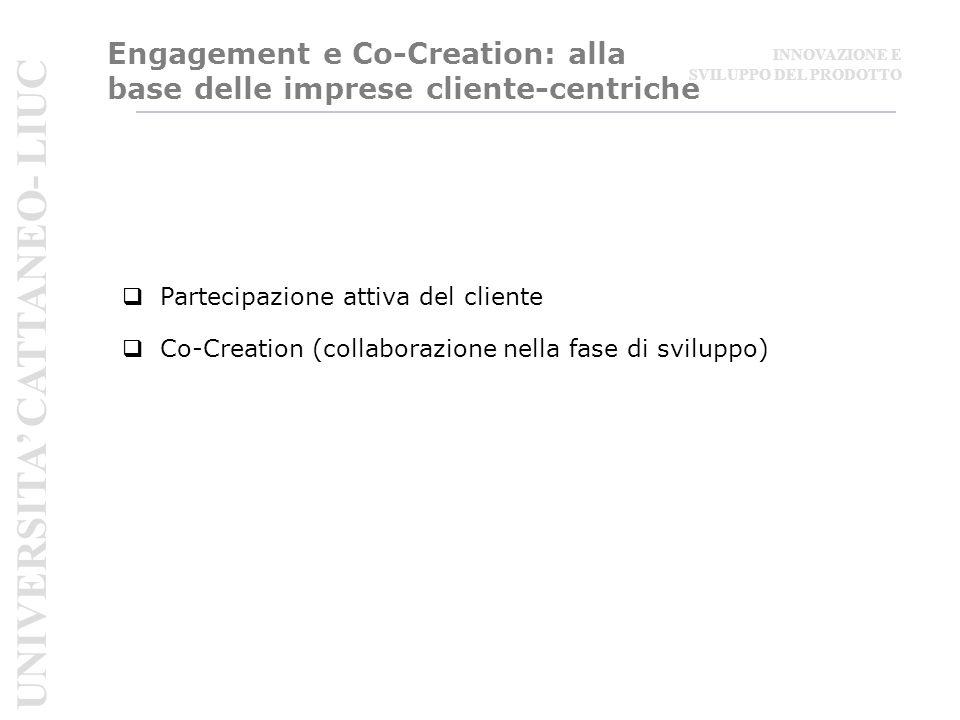 Engagement e Co-Creation: alla base delle imprese cliente-centriche