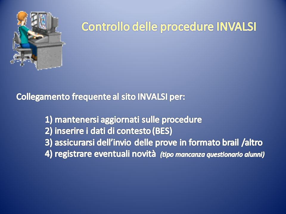 Controllo delle procedure INVALSI