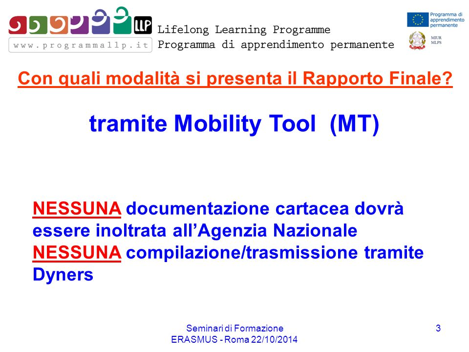 tramite Mobility Tool (MT)
