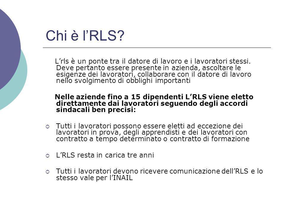 Chi è l'RLS