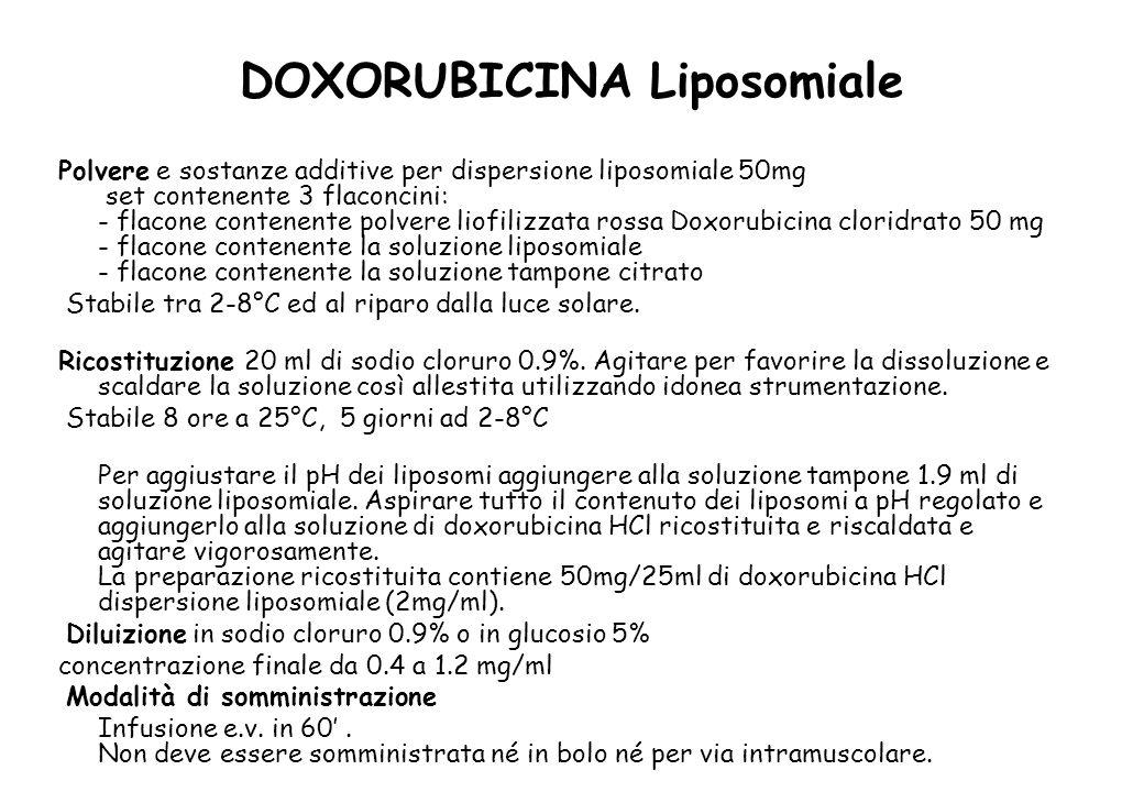 DOXORUBICINA Liposomiale