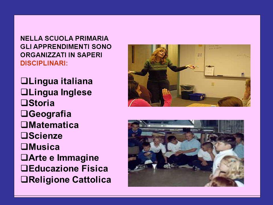 Lingua italiana Lingua italiana Lingua Inglese Lingua Inglese Storia
