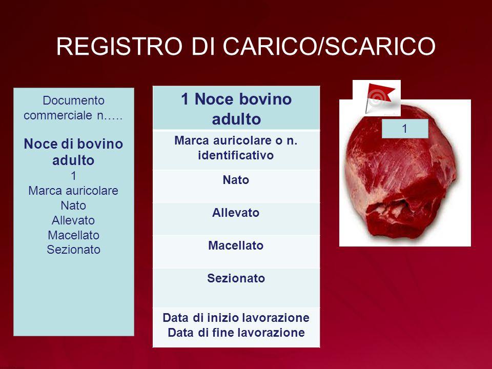 REGISTRO DI CARICO/SCARICO
