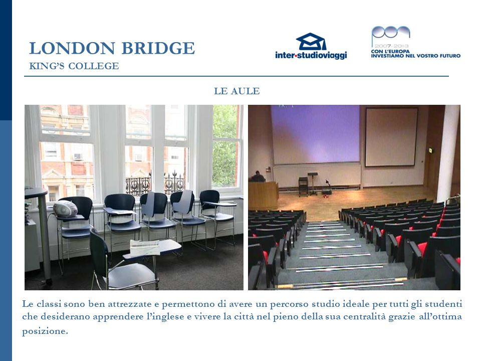 LONDON BRIDGE KING'S COLLEGE