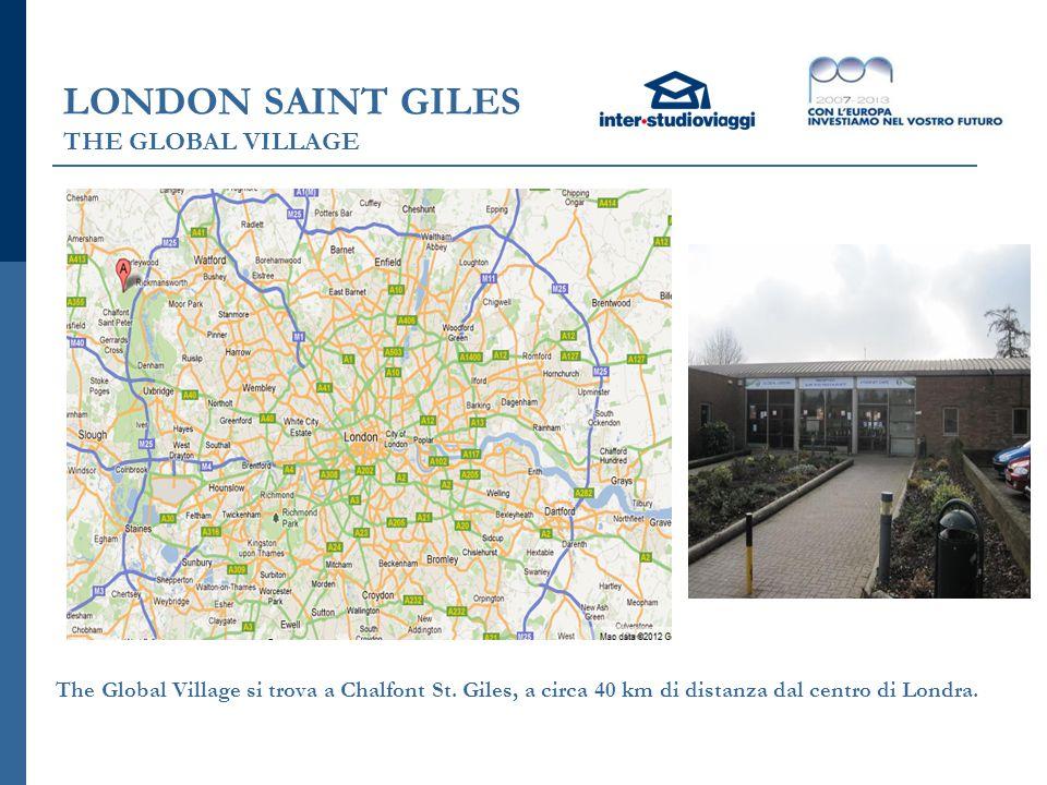 LONDON SAINT GILES THE GLOBAL VILLAGE