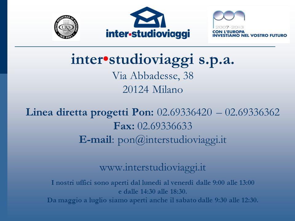 inter•studioviaggi s. p. a
