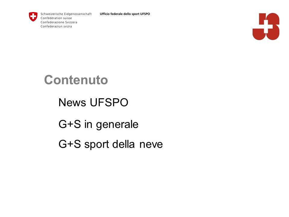 Contenuto News UFSPO G+S in generale G+S sport della neve