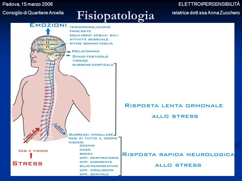 Fisiopatologia Padova, 15 marzo 2006 ELETTROIPERSENSIBILITÀ