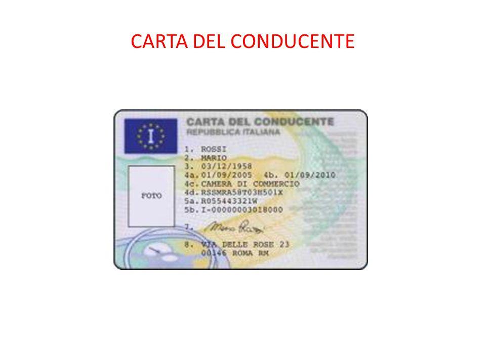 CARTA DEL CONDUCENTE