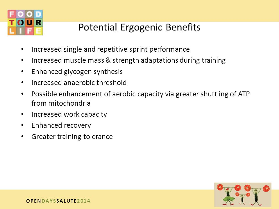Potential Ergogenic Benefits