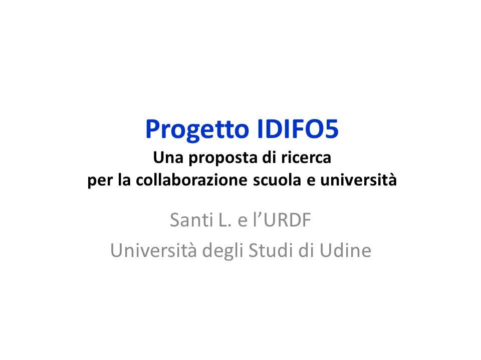 Santi L. e l'URDF Università degli Studi di Udine