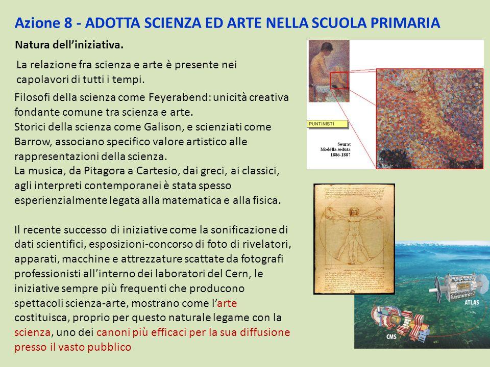 Azione 8 - ADOTTA SCIENZA ED ARTE NELLA SCUOLA PRIMARIA