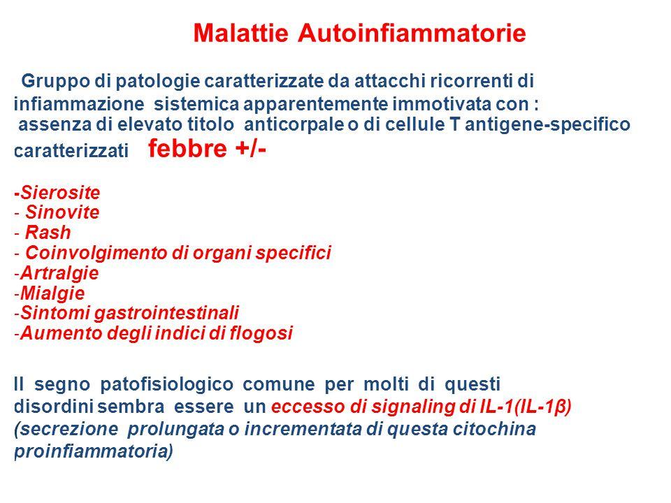 Coinvolgimento di organi specifici Artralgie Mialgie