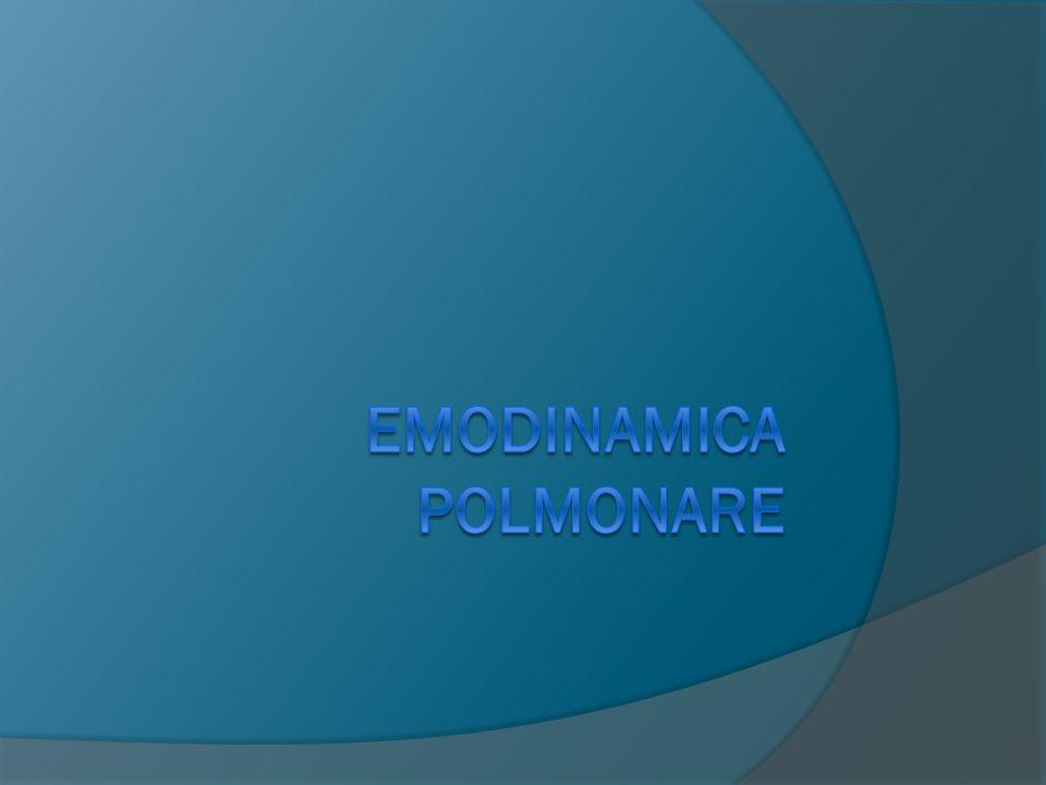 Emodinamica polmonare
