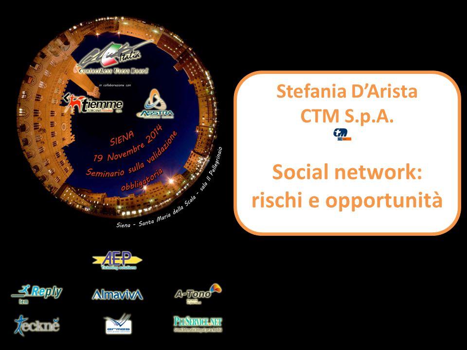 Social network: rischi e opportunità