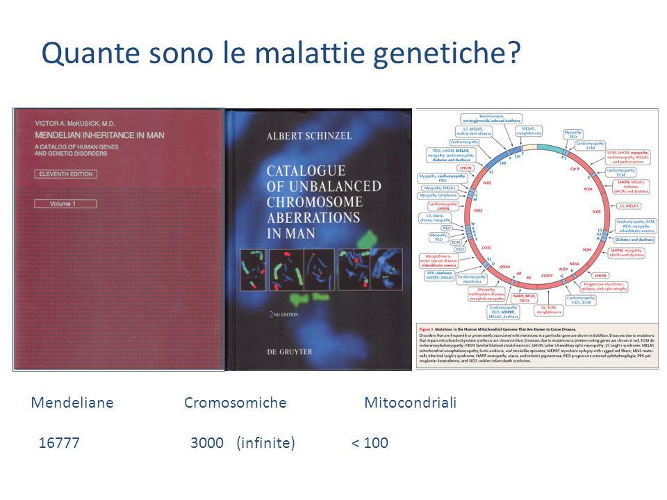 Quante sono le malattie genetiche