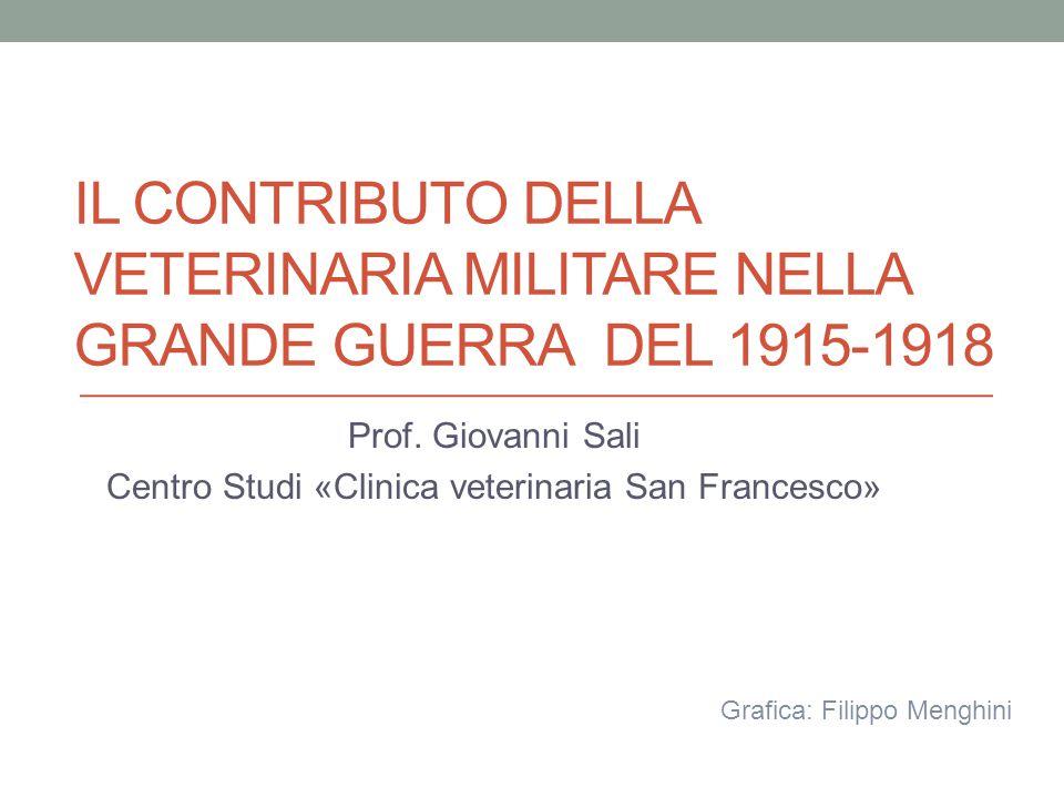 Prof. Giovanni Sali Centro Studi «Clinica veterinaria San Francesco»