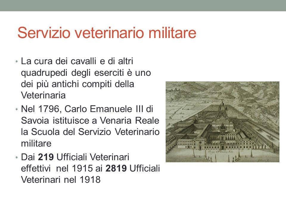 Servizio veterinario militare