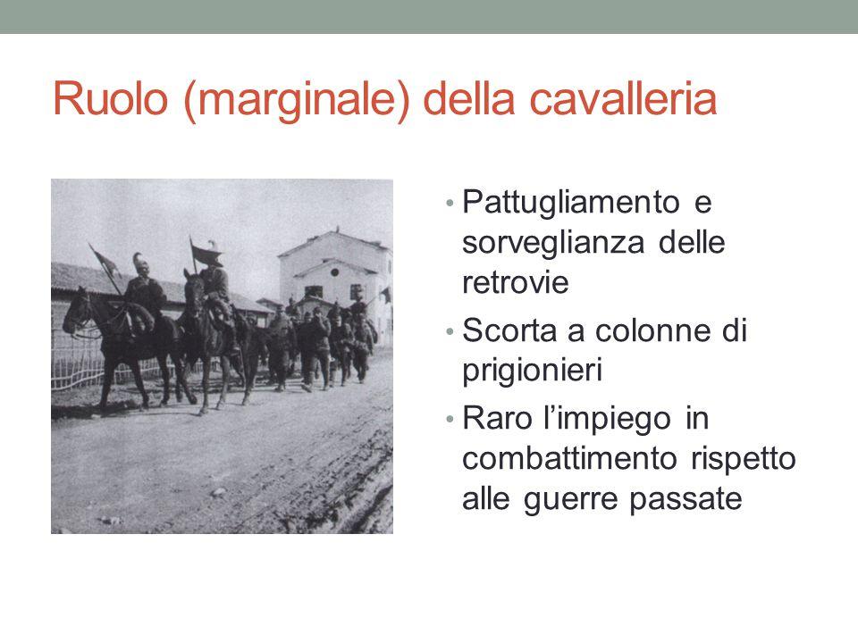 Ruolo (marginale) della cavalleria