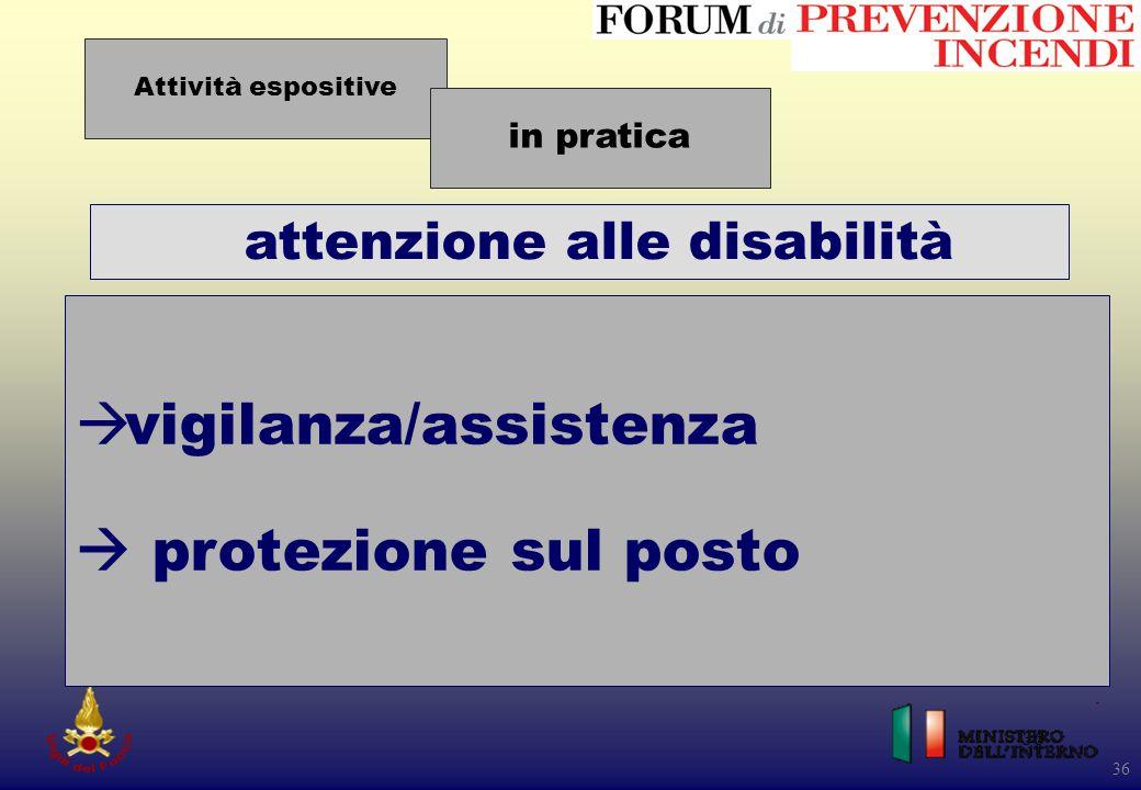attenzione alle disabilità