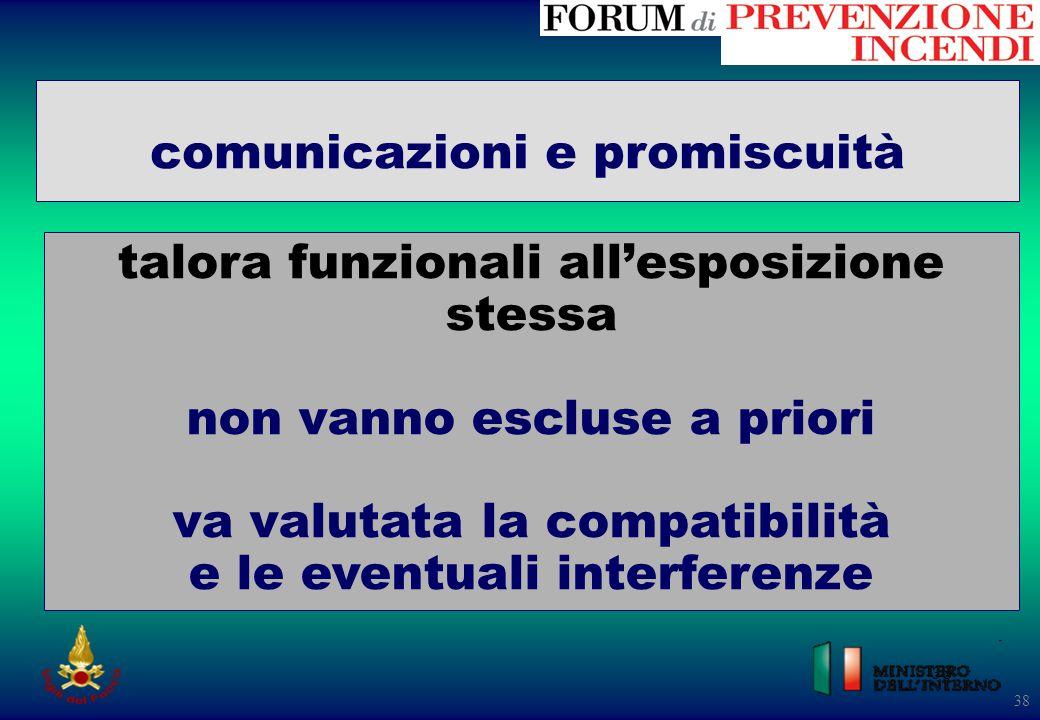 comunicazioni e promiscuità