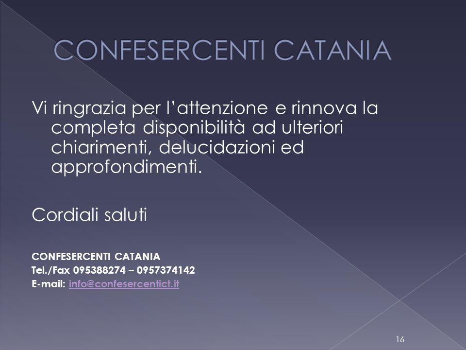 CONFESERCENTI CATANIA