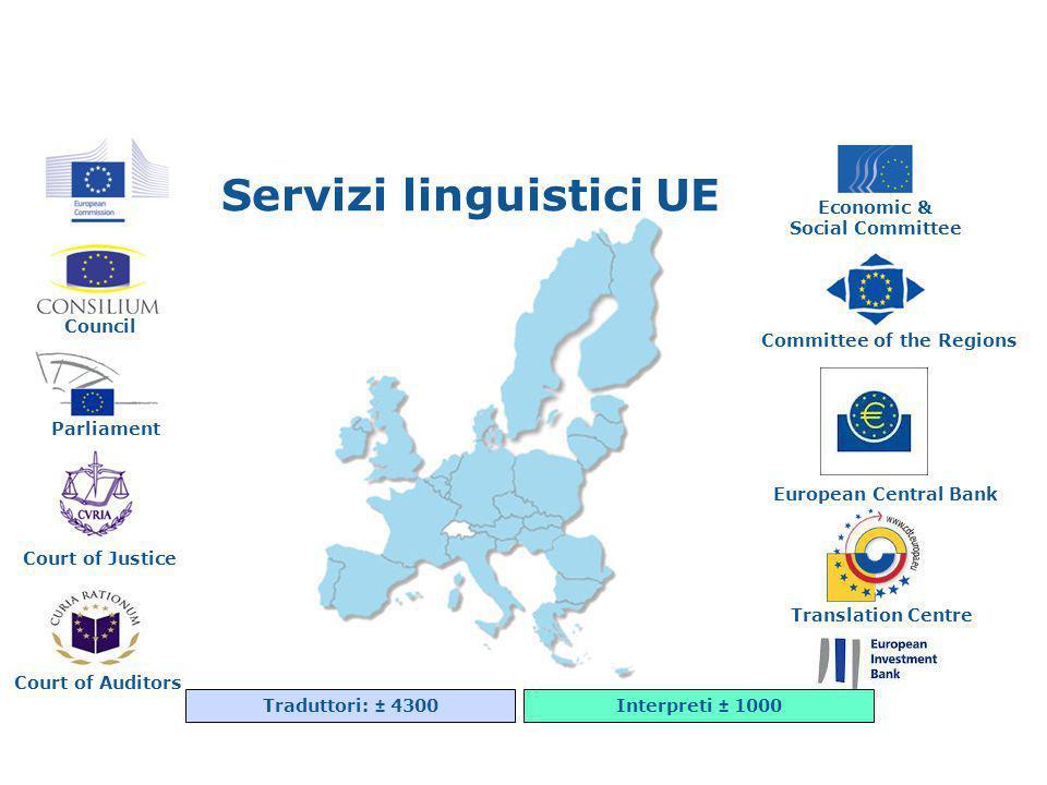 Servizi linguistici UE