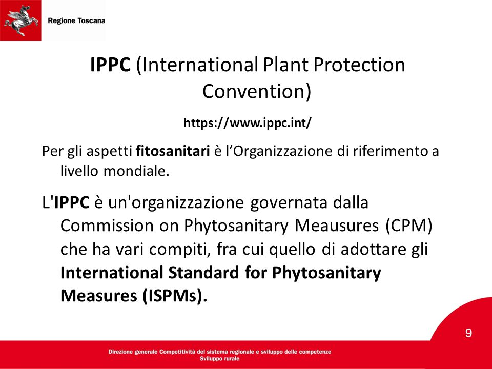 IPPC (International Plant Protection Convention)