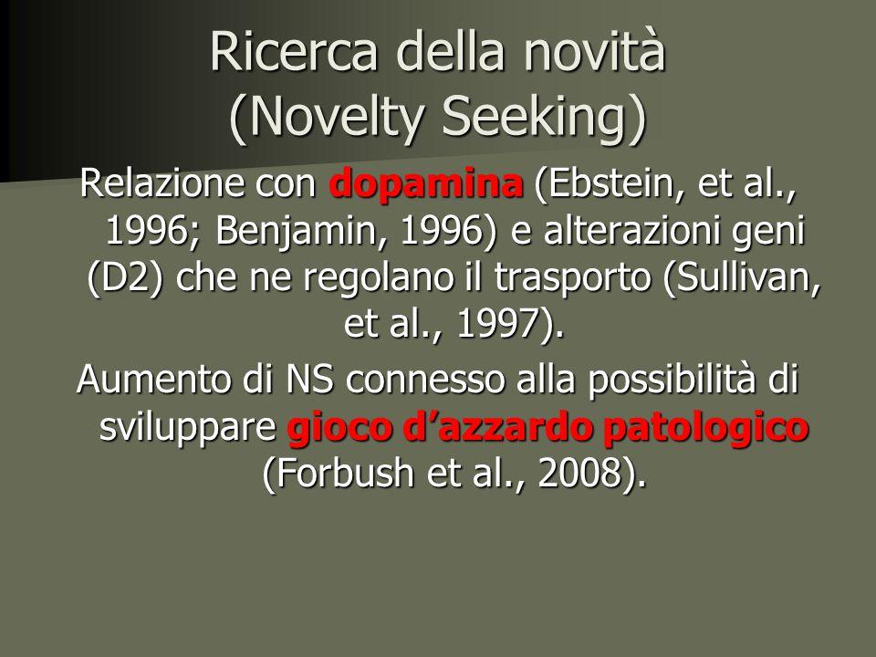 Ricerca della novità (Novelty Seeking)
