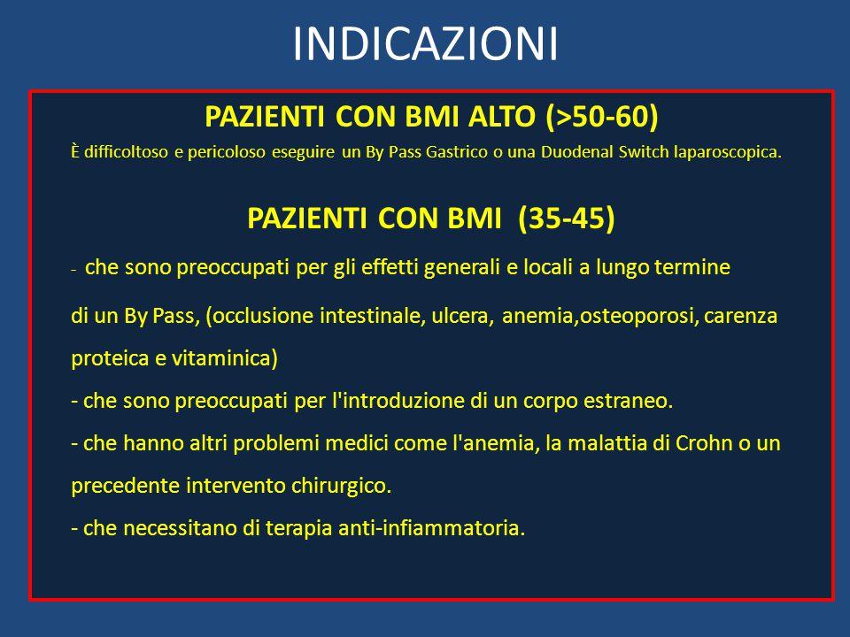 PAZIENTI CON BMI ALTO (>50-60)