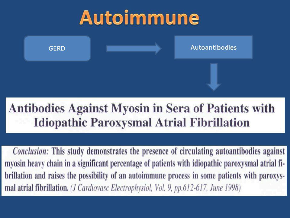 Autoimmune GERD Autoantibodies