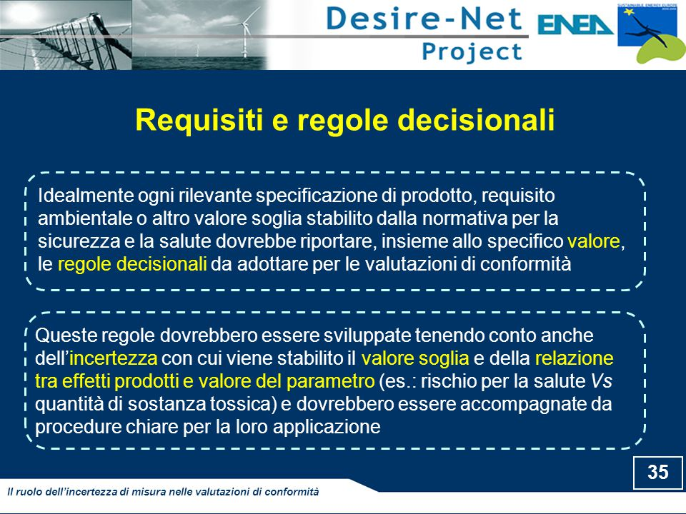 Requisiti e regole decisionali