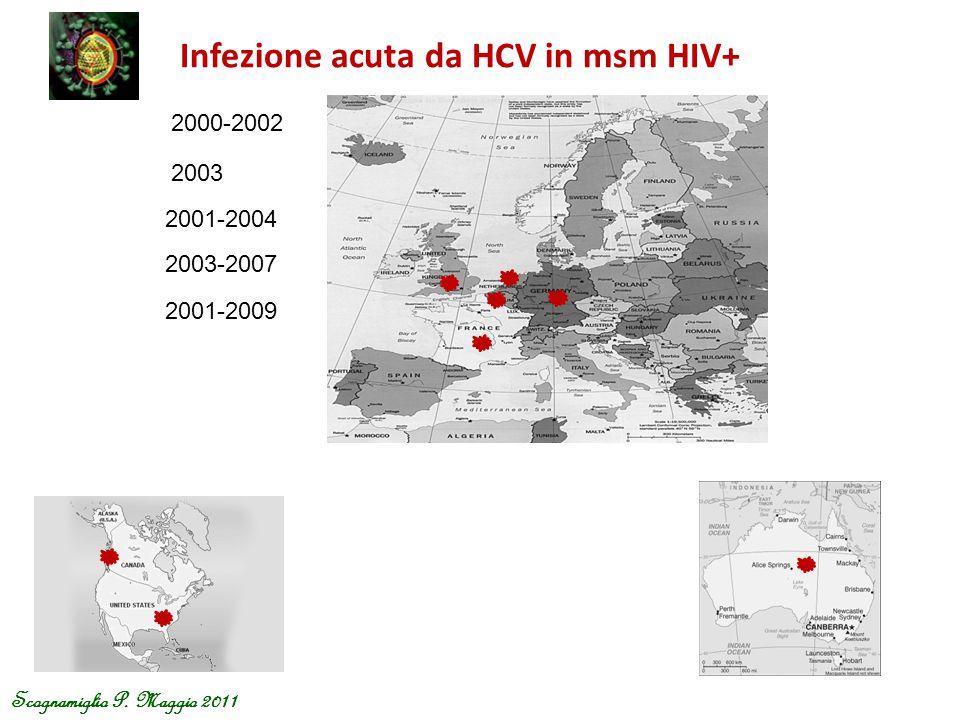 Infezione acuta da HCV in msm HIV+
