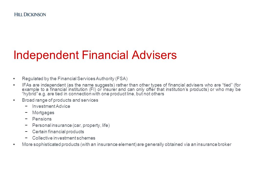 Independent Financial Advisers