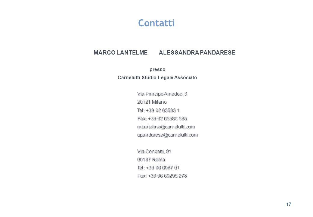 Carnelutti Studio Legale Associato