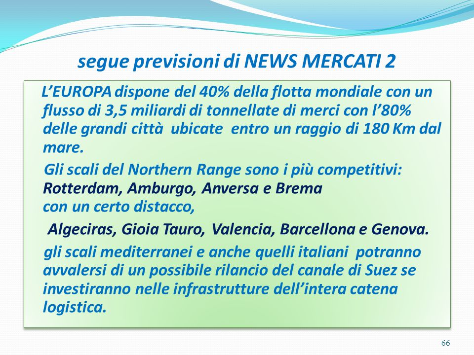 segue previsioni di NEWS MERCATI 2