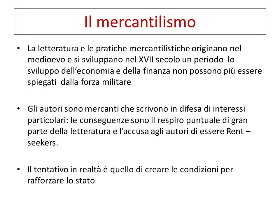 Il mercantilismo