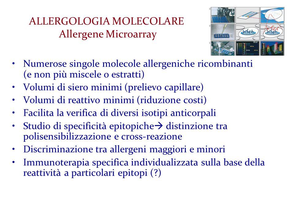 ALLERGOLOGIA MOLECOLARE Allergene Microarray