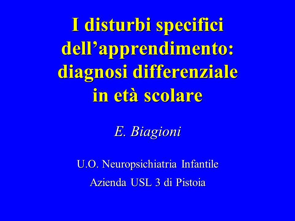 U.O. Neuropsichiatria Infantile