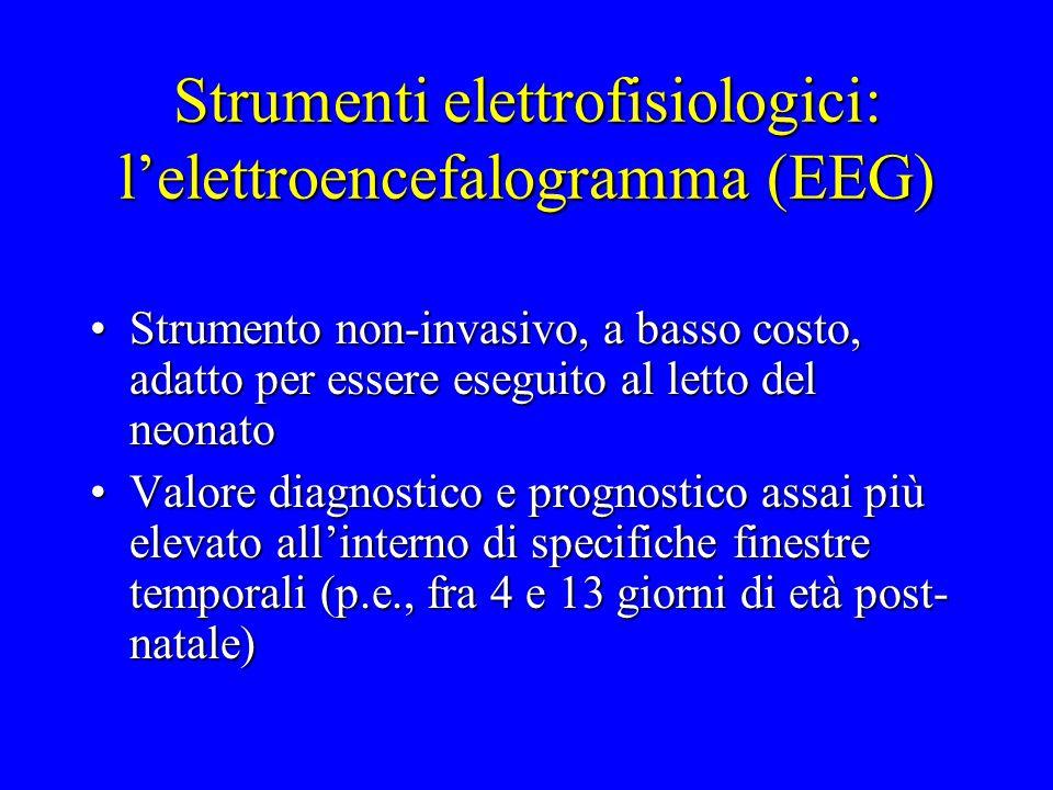 Strumenti elettrofisiologici: l'elettroencefalogramma (EEG)