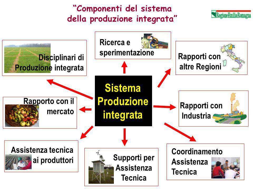 Componenti del sistema della produzione integrata