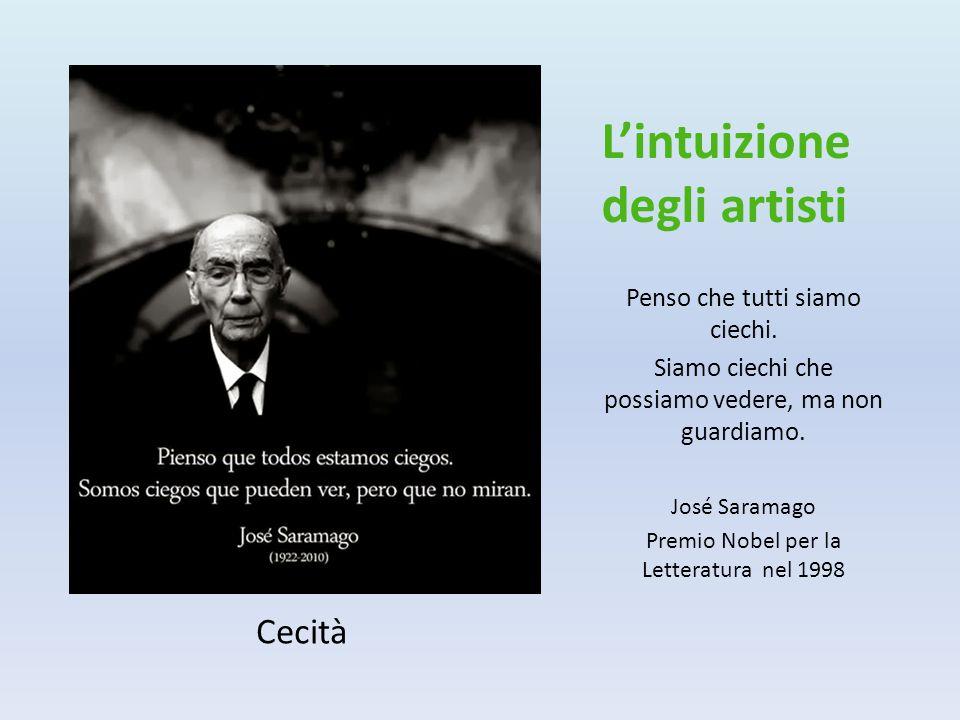 L'intuizione degli artisti