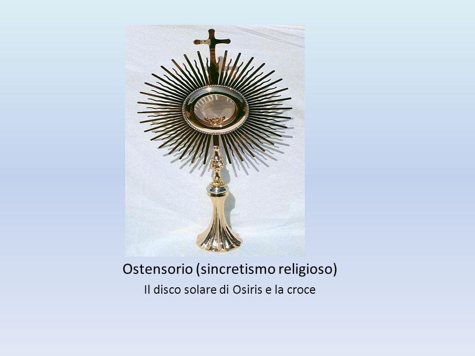 Ostensorio (sincretismo religioso)