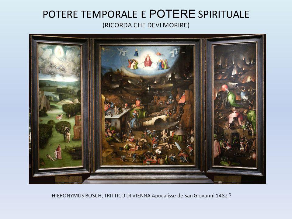 HIERONYMUS BOSCH, TRITTICO DI VIENNA Apocalisse de San Giovanni 1482