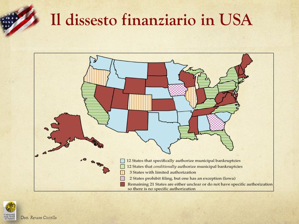 Il dissesto finanziario in USA